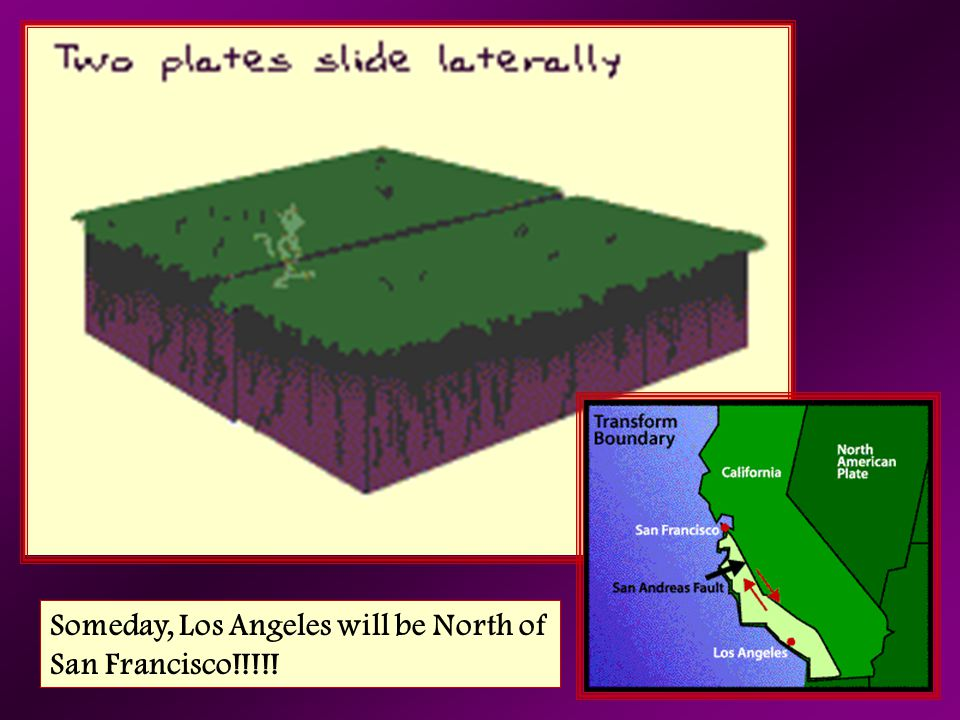 Someday, Los Angeles will be North of San Francisco!!!!!