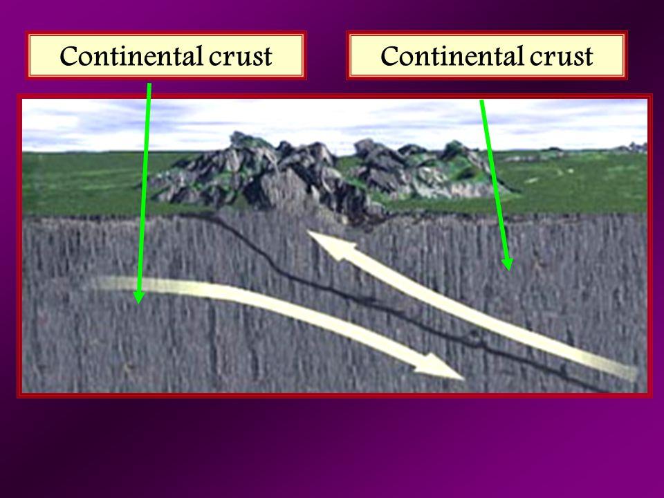 Continental crust Continental crust