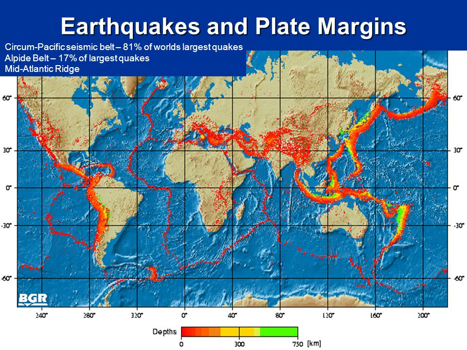 Earthquakes and Plate Margins