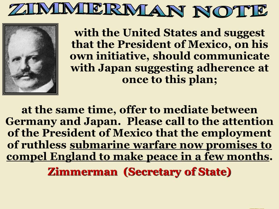 Zimmerman (Secretary of State)