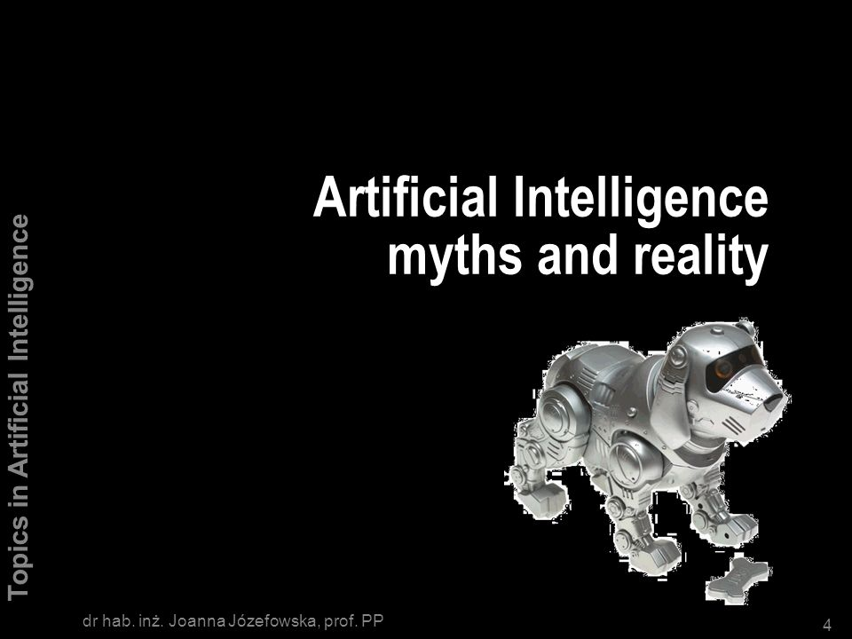 Artificial Intelligence myths and reality