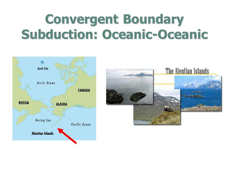 Convergent Boundary Subduction: Oceanic-Oceanic