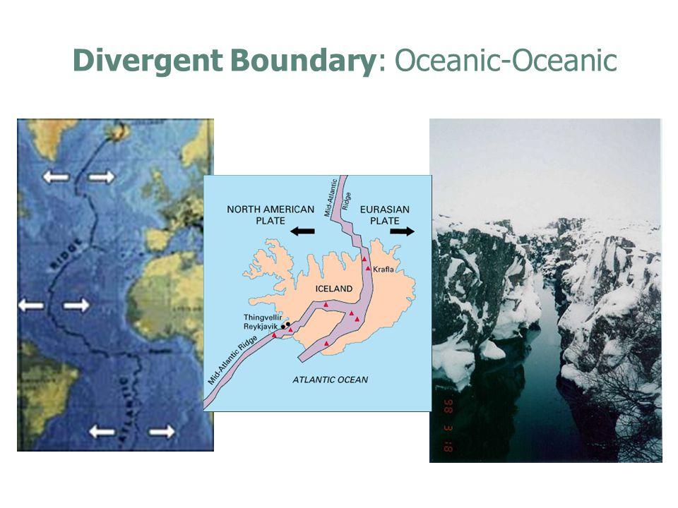 Divergent Boundary: Oceanic-Oceanic