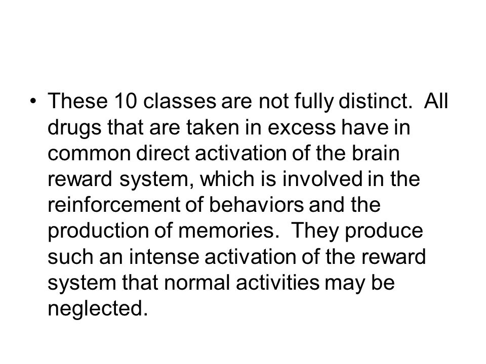 These 10 classes are not fully distinct