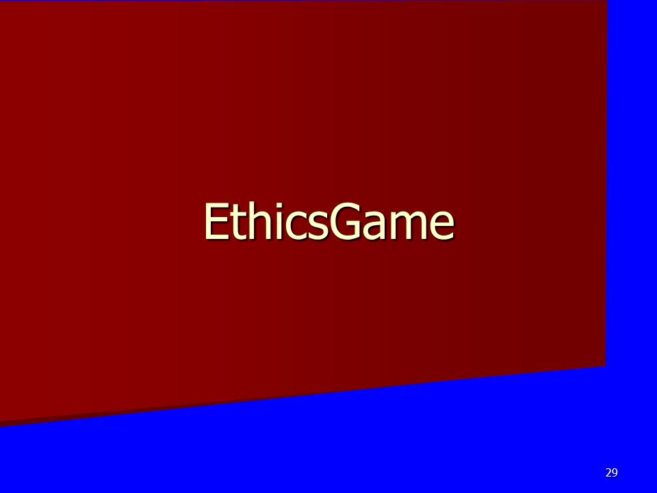 EthicsGame