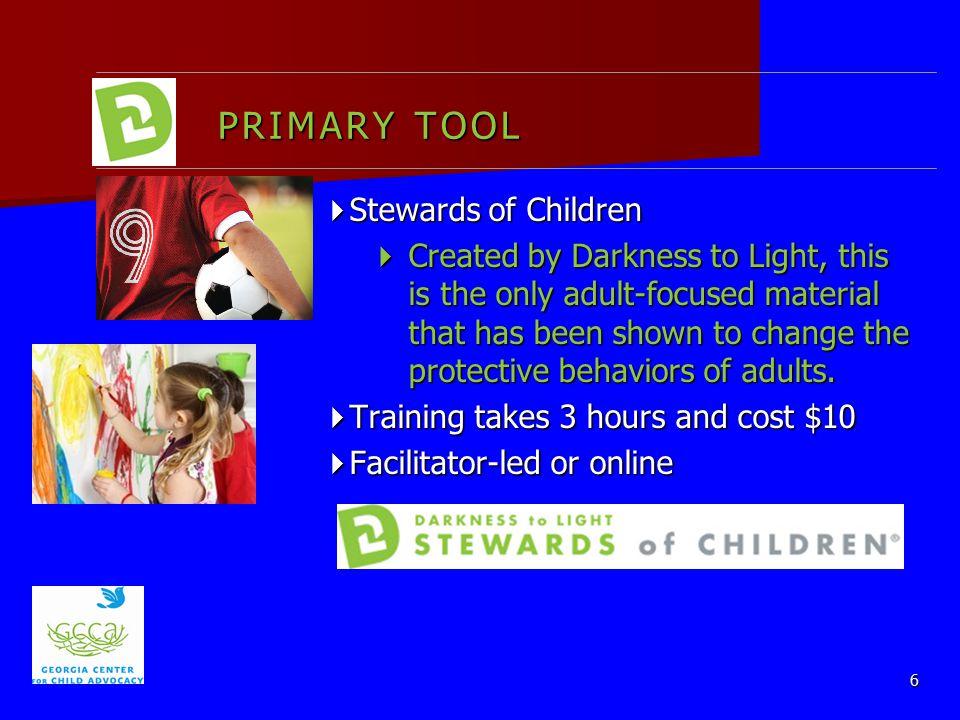 PRIMARY TOOL Stewards of Children