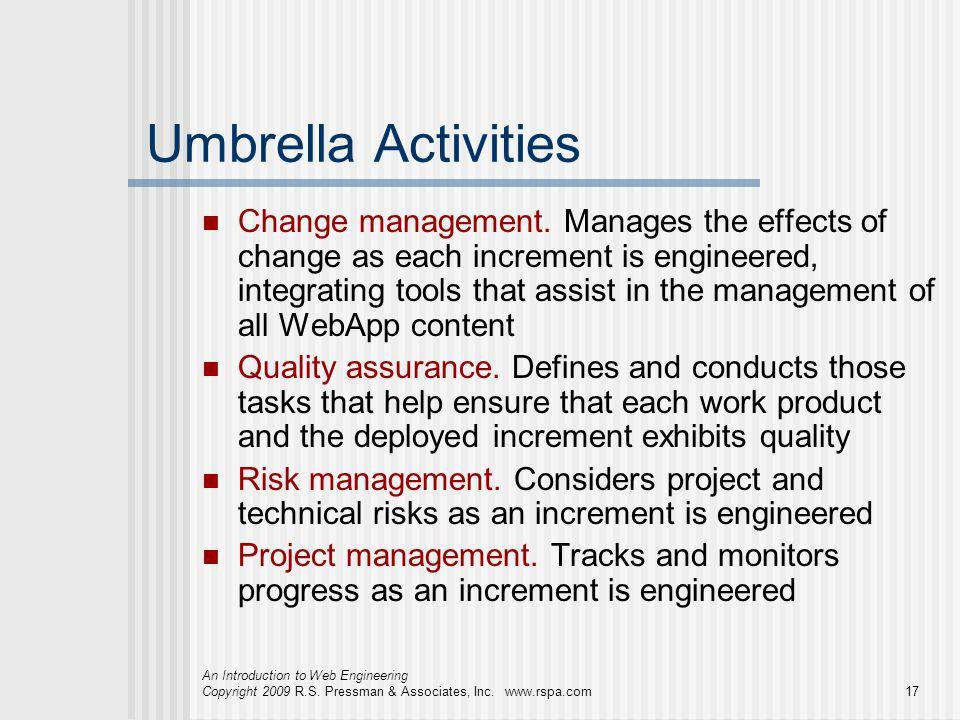 Umbrella Activities