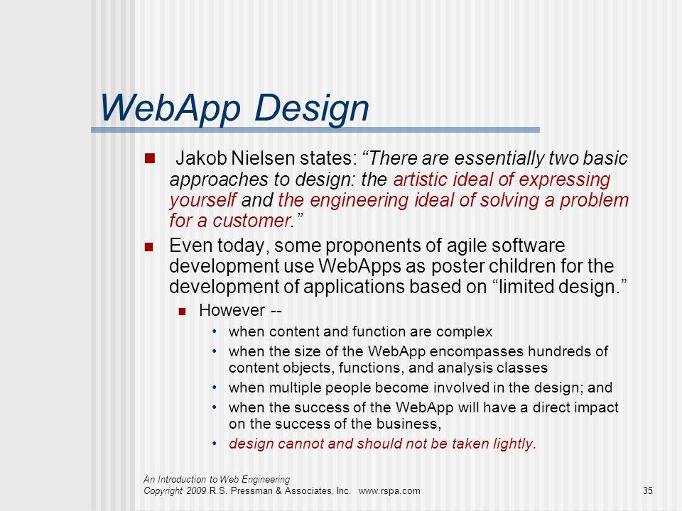 WebApp Design