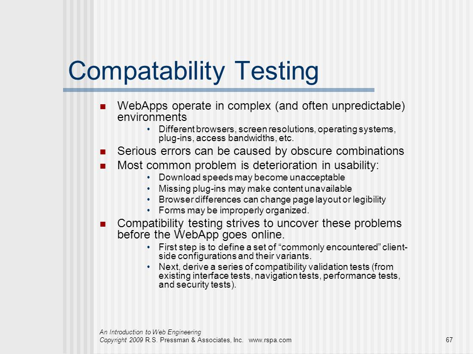 Compatability Testing
