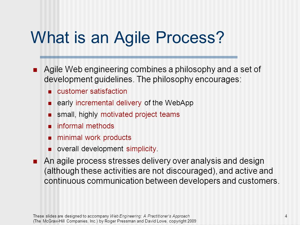 What is an Agile Process