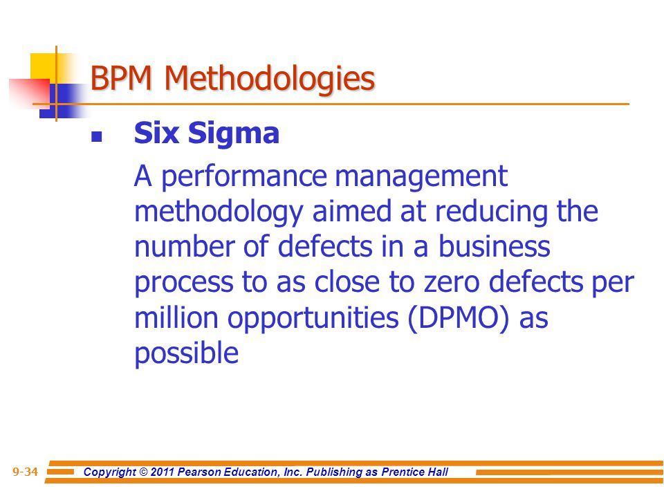 BPM Methodologies Six Sigma