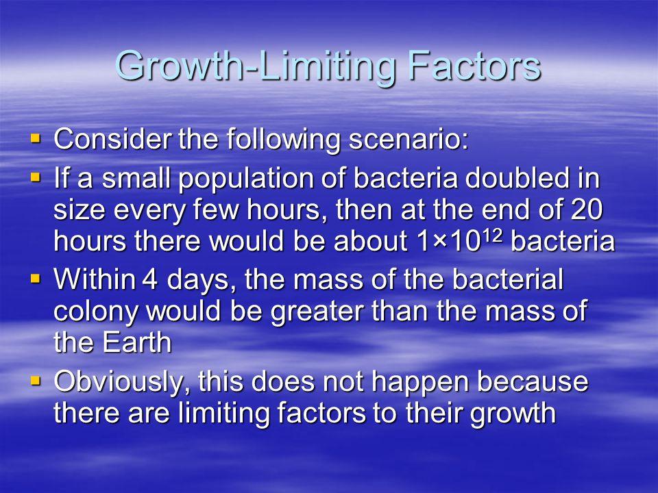 Growth-Limiting Factors