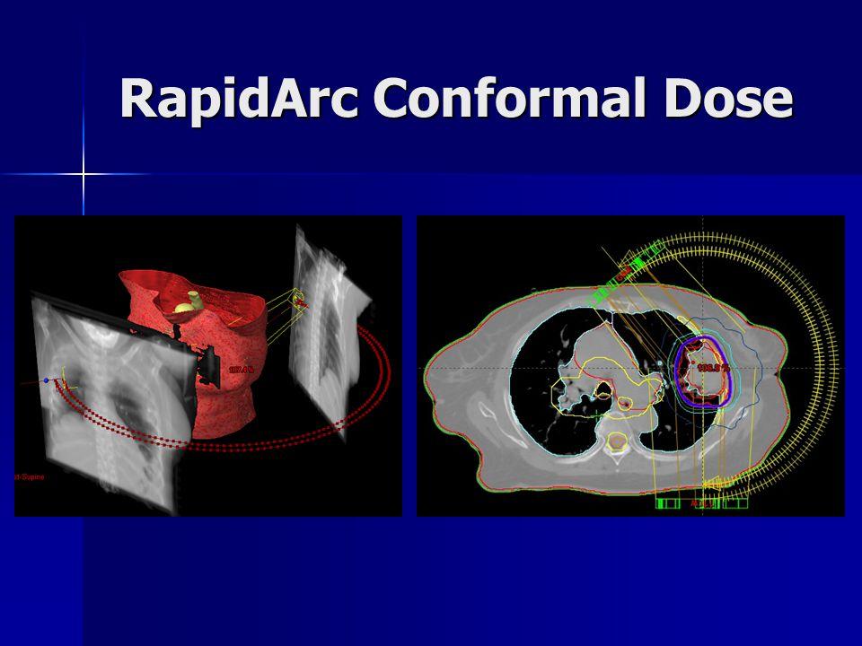 RapidArc Conformal Dose