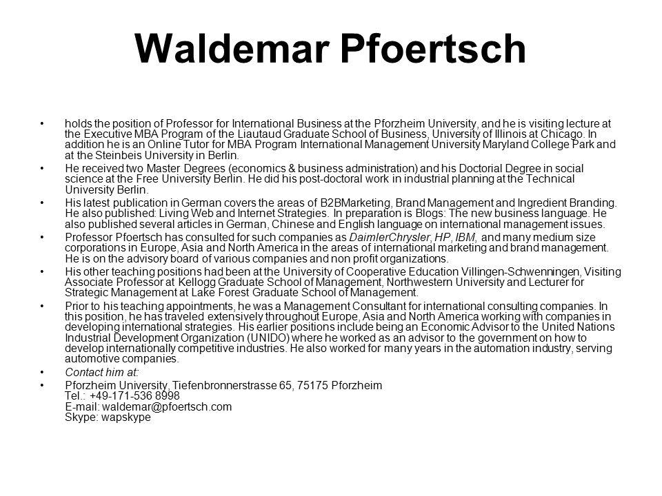 Waldemar Pfoertsch