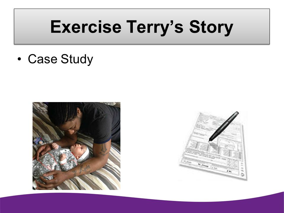 Exercise Terry's Story