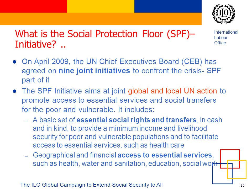 What is the Social Protection Floor (SPF)–Initiative ..