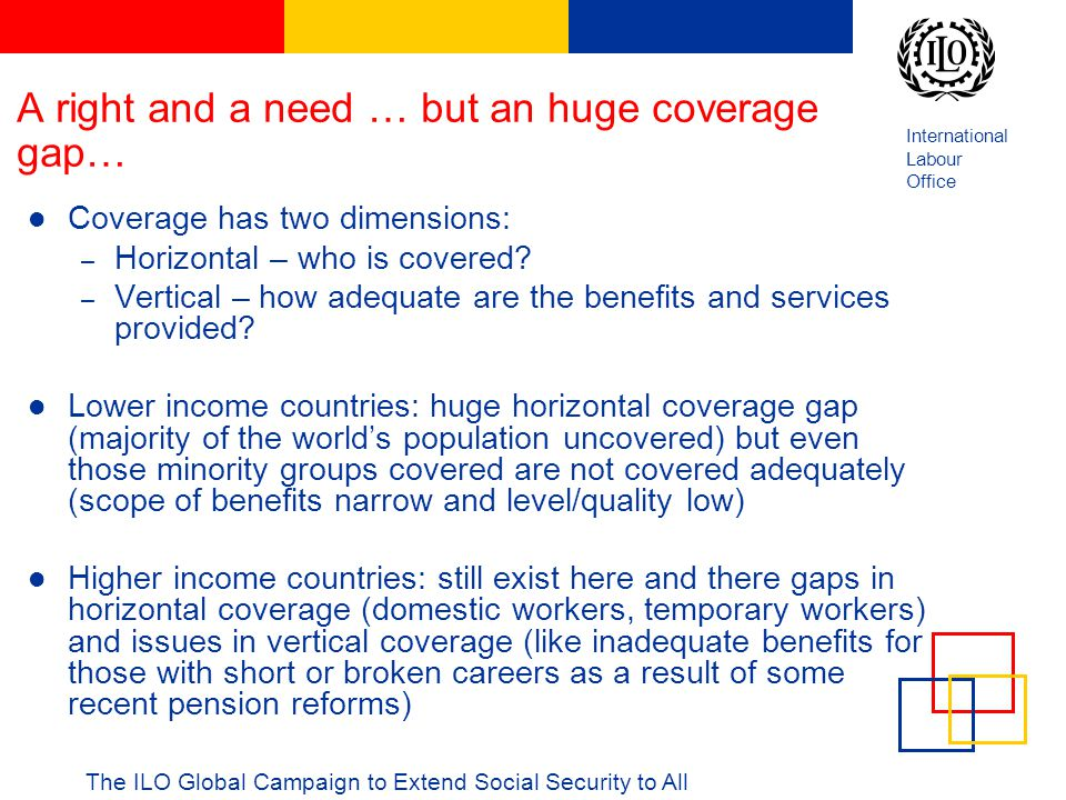 A right and a need … but an huge coverage gap…