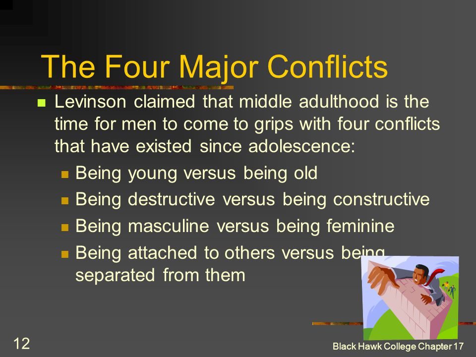 The Four Major Conflicts