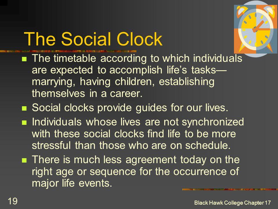 The Social Clock