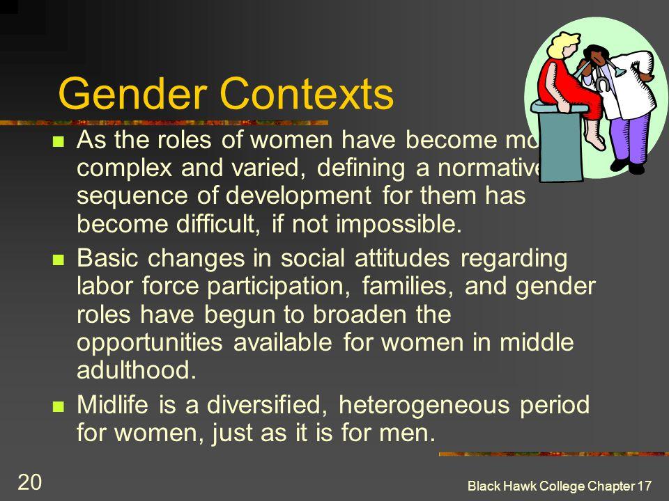 Gender Contexts