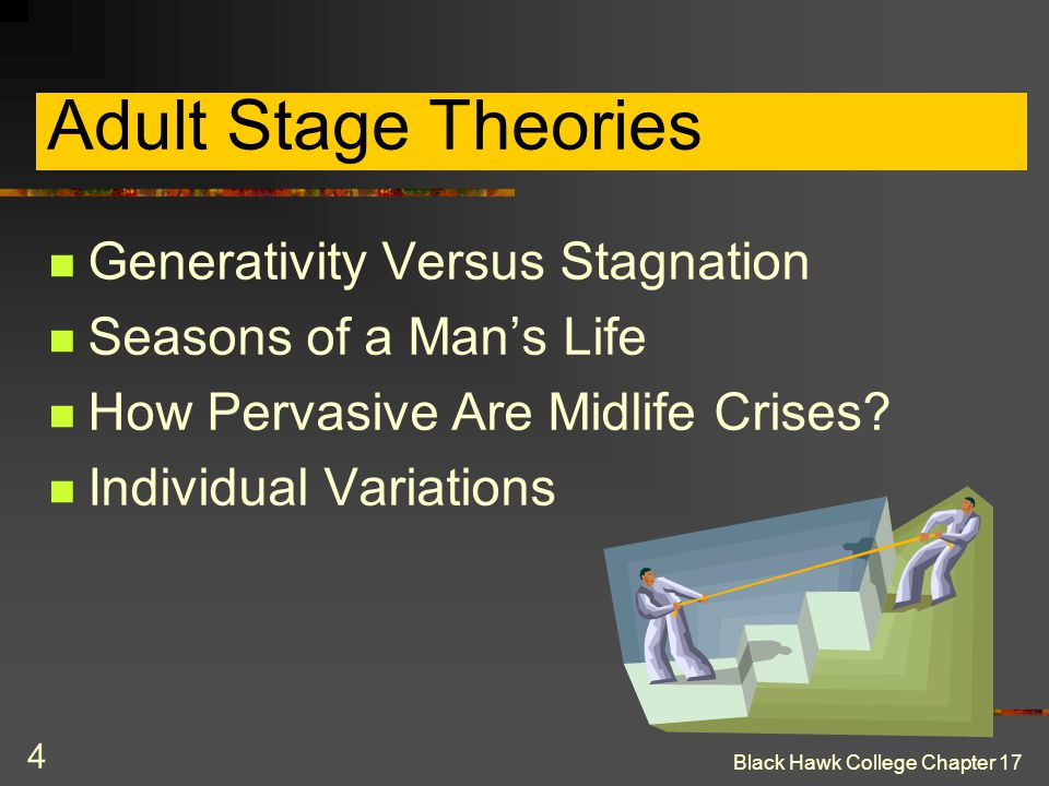 Adult Stage Theories Generativity Versus Stagnation