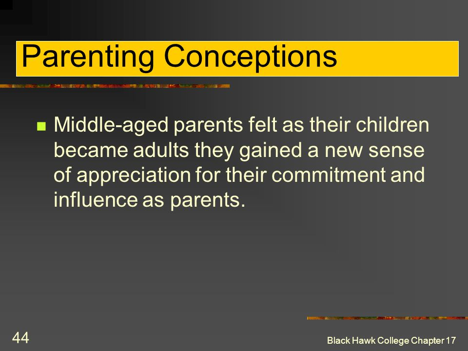 Parenting Conceptions