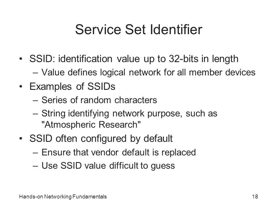 Service Set Identifier