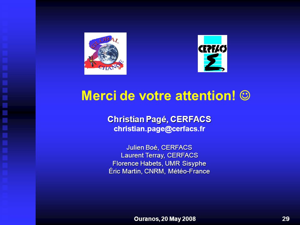 Christian Pagé, CERFACS