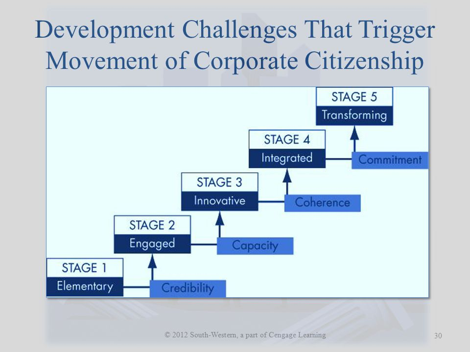 Development Challenges That Trigger Movement of Corporate Citizenship
