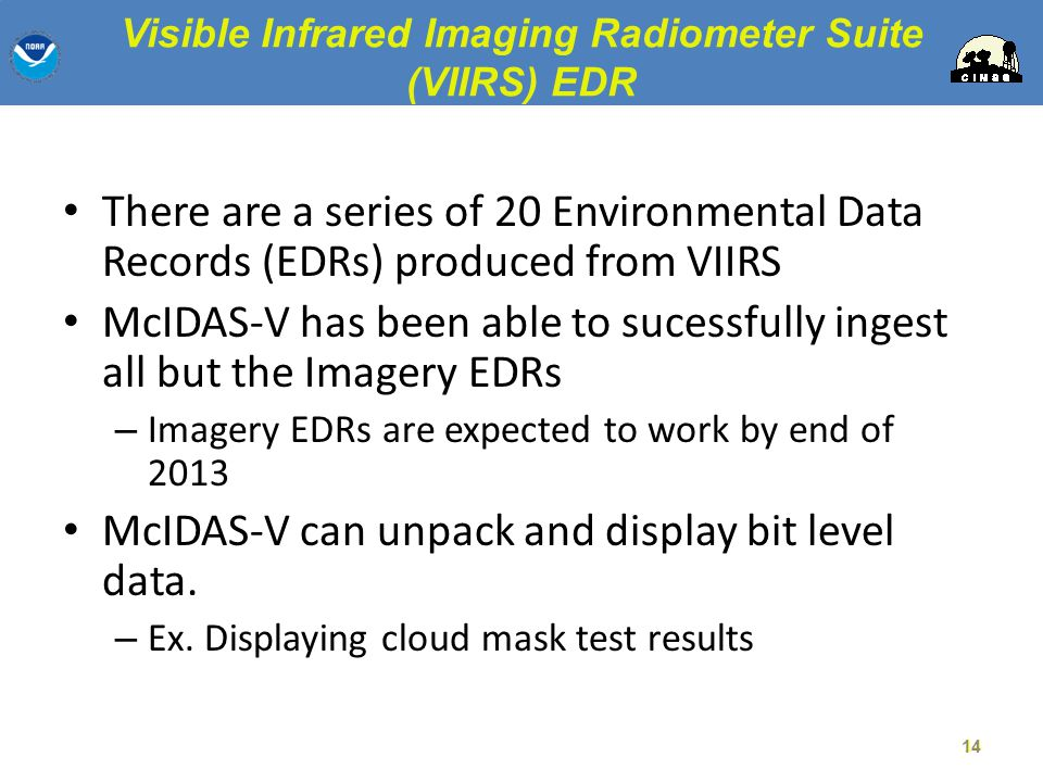 Visible Infrared Imaging Radiometer Suite (VIIRS) EDR