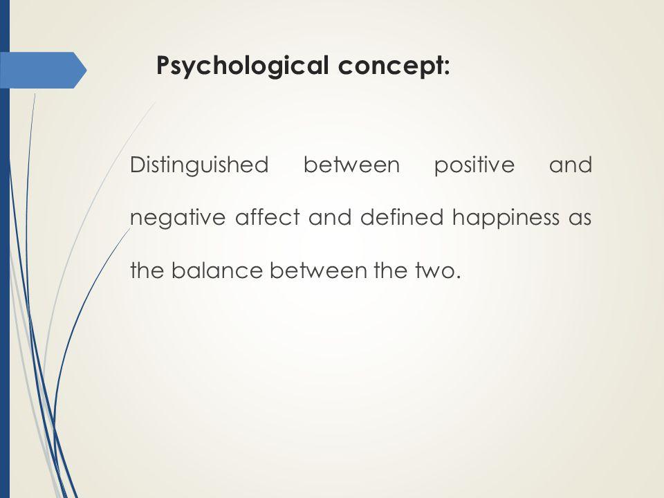 Psychological concept: