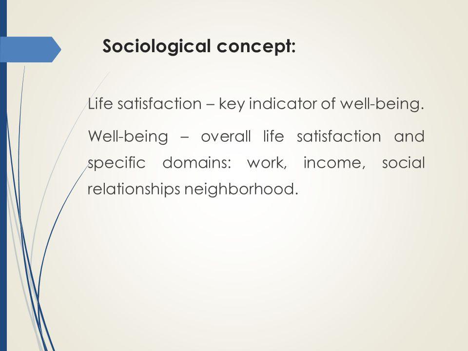 Sociological concept: