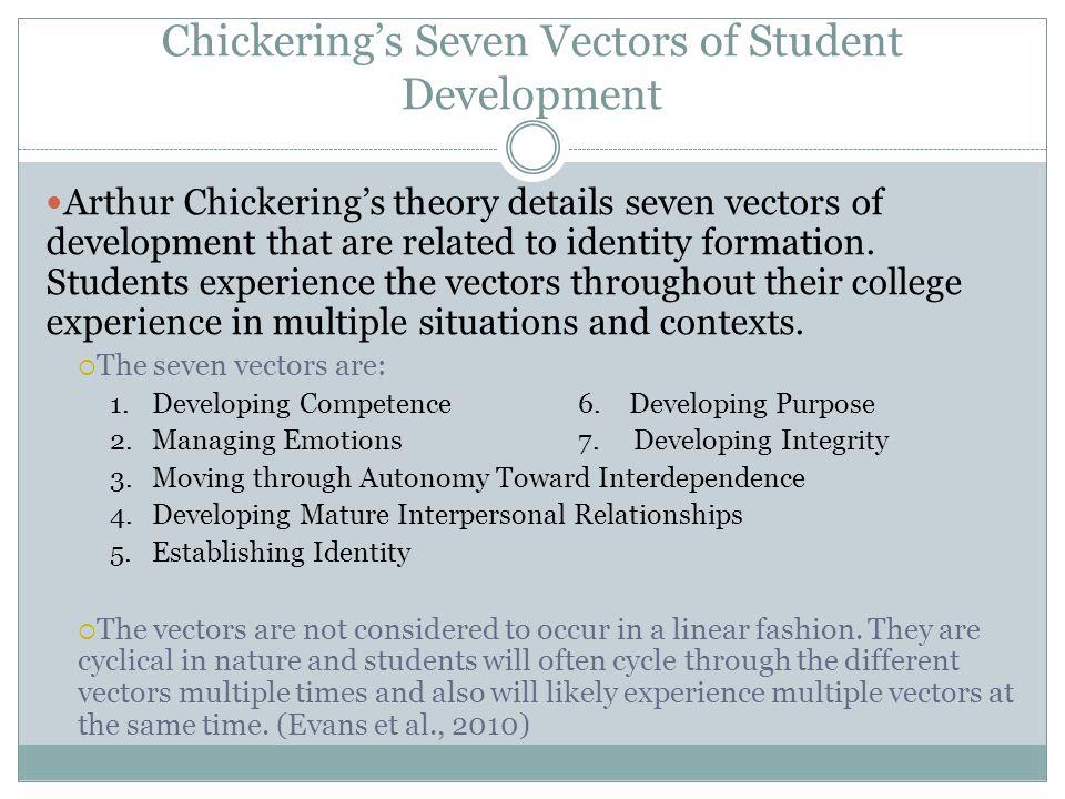 Chickering's Seven Vectors of Student Development