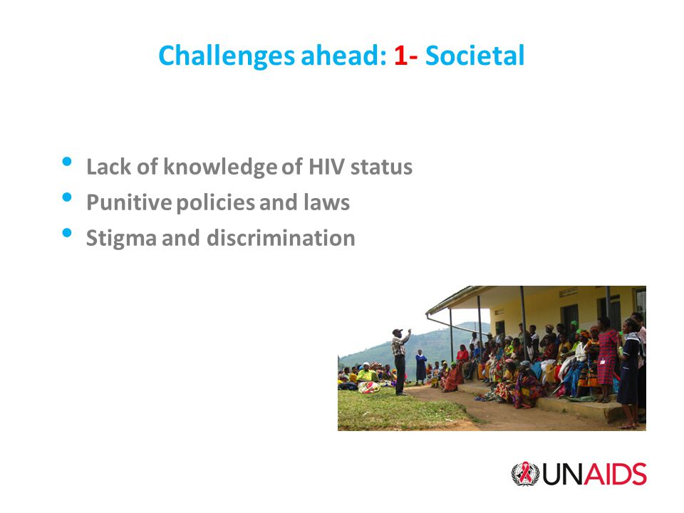 Challenges ahead: 1- Societal