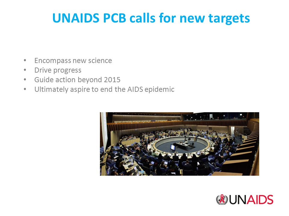 UNAIDS PCB calls for new targets