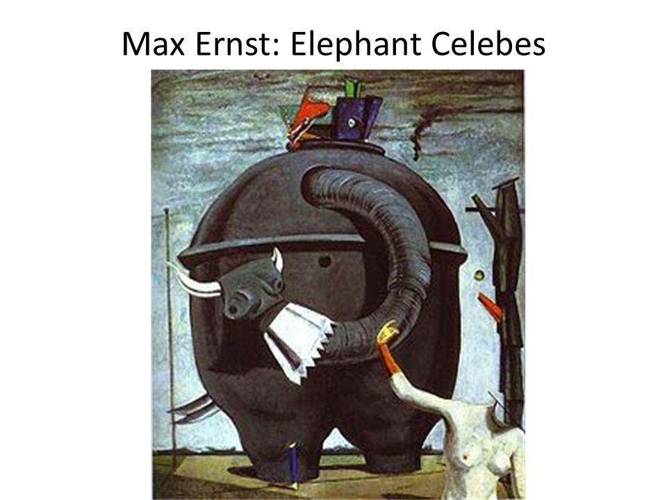 Max Ernst: Elephant Celebes
