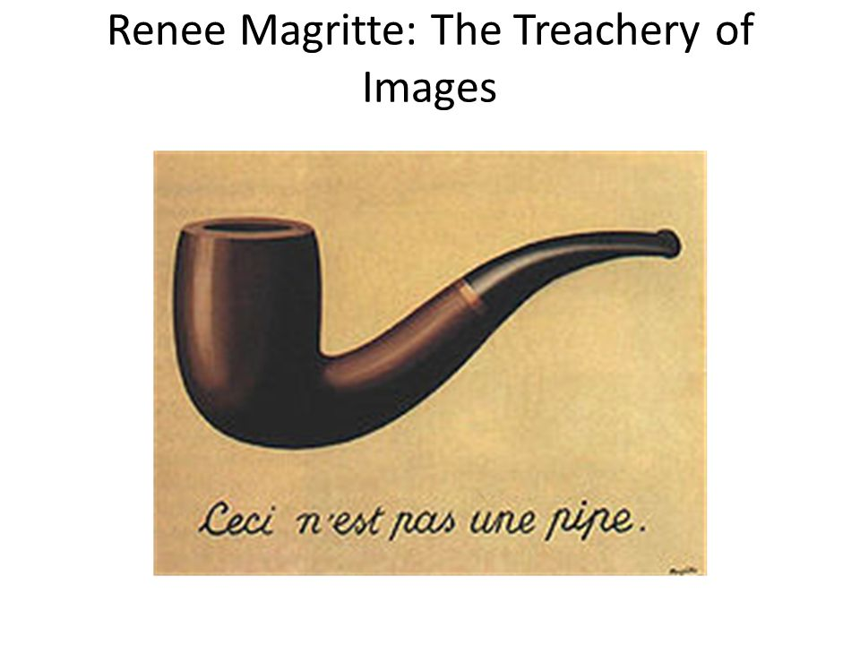 Renee Magritte: The Treachery of Images
