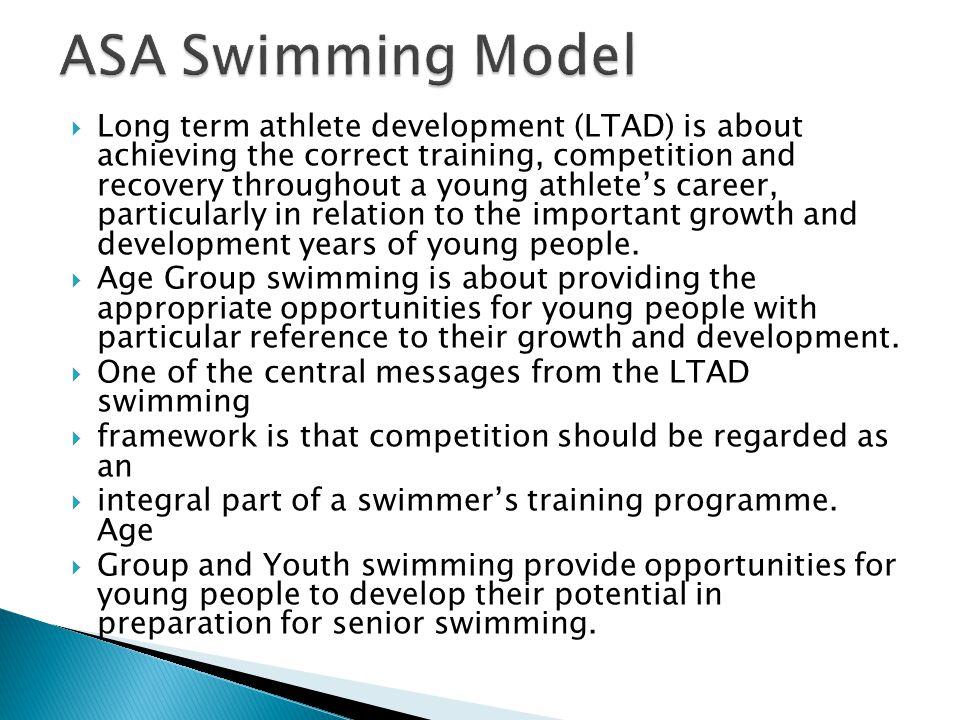 ASA Swimming Model