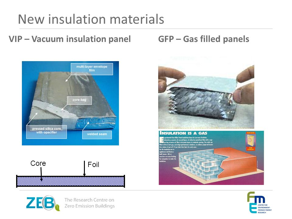 New insulation materials