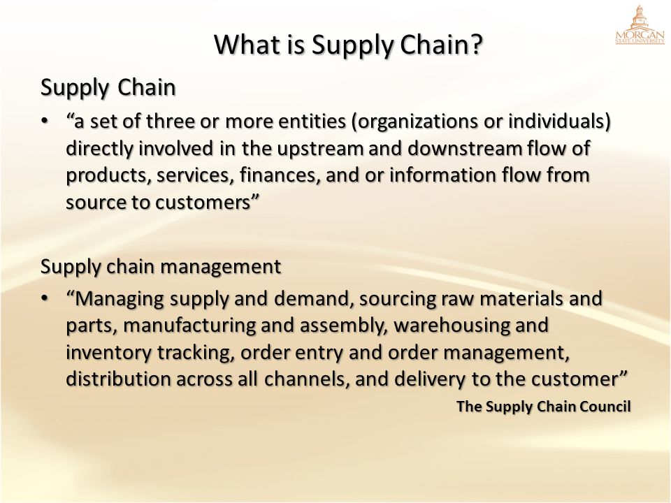 What is Supply Chain Supply Chain
