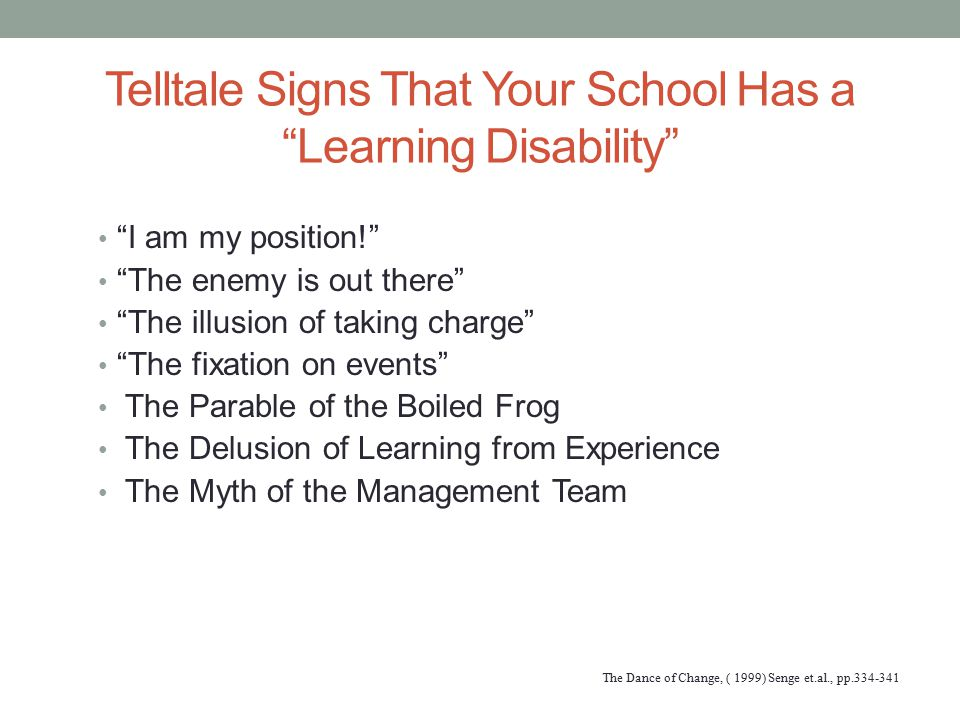 Telltale Signs That Your School Has a Learning Disability