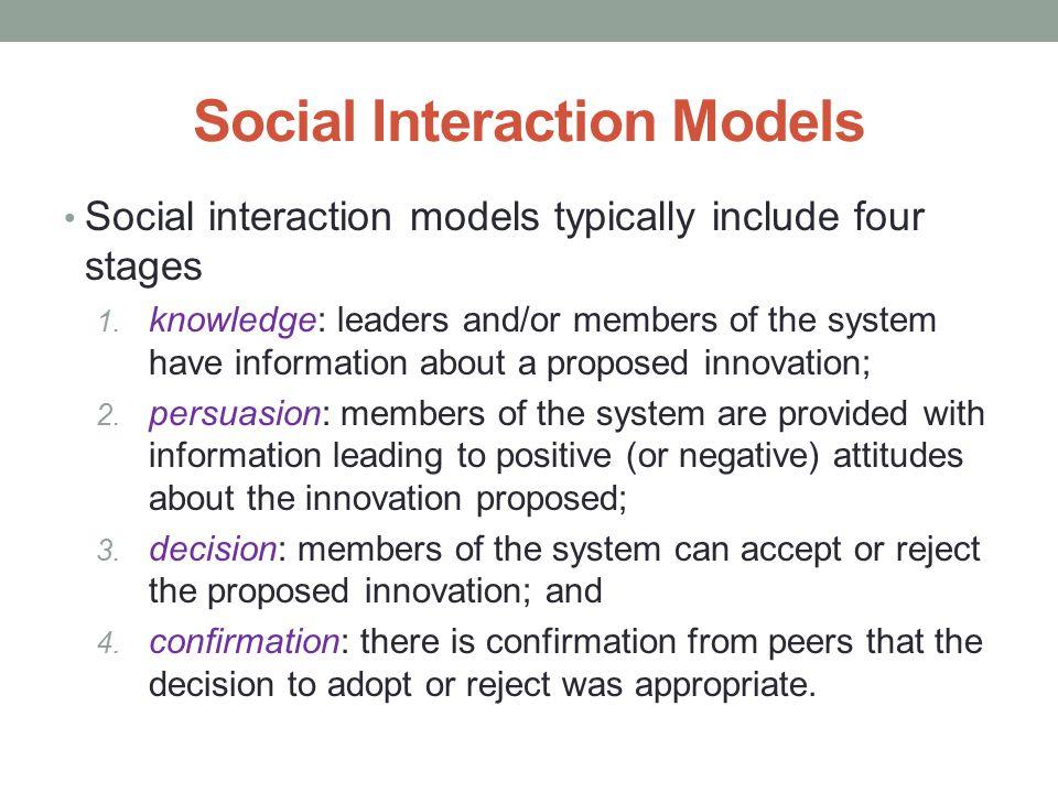 Social Interaction Models