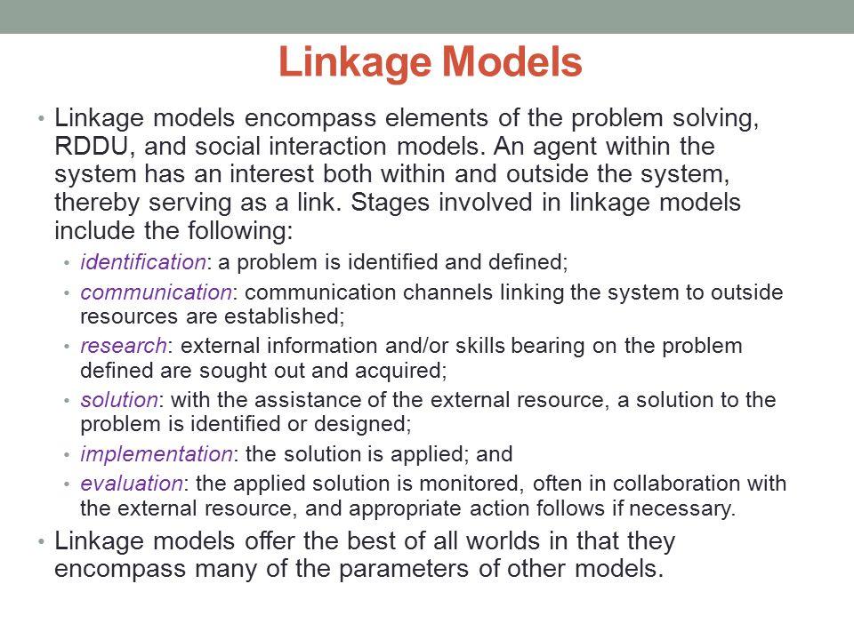 Linkage Models