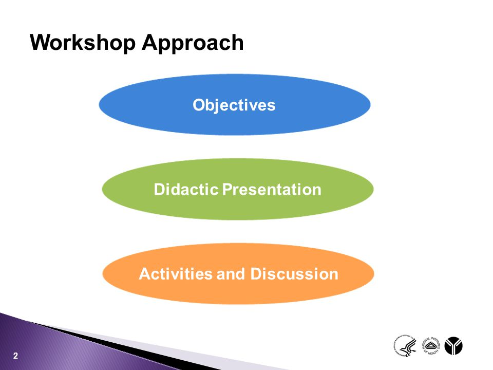 Didactic Presentation Activities and Discussion