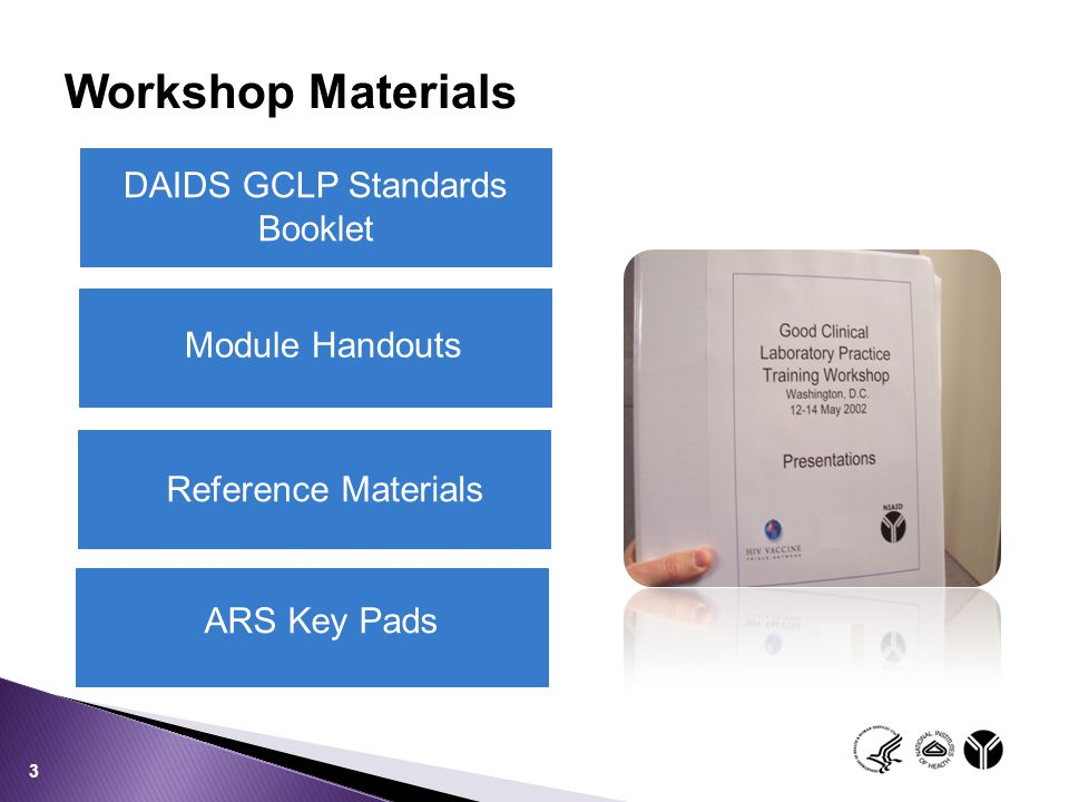 DAIDS GCLP Standards Booklet