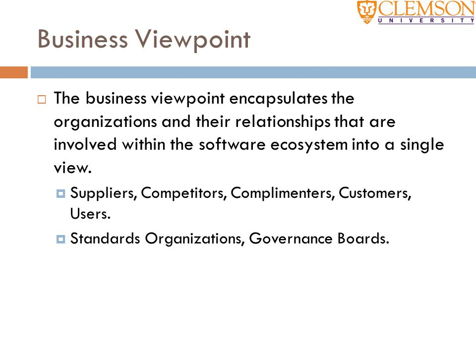 Business Viewpoint