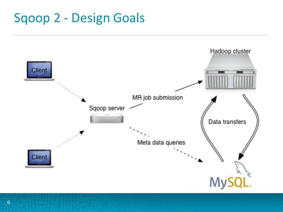 Sqoop 2 - Design Goals