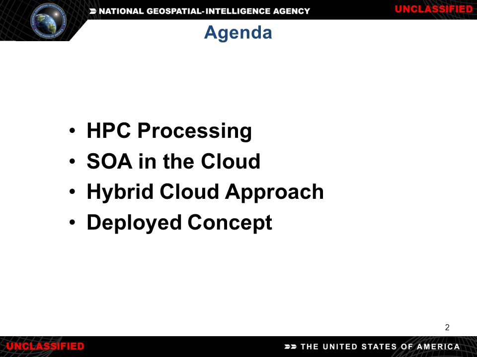 HPC Processing SOA in the Cloud Hybrid Cloud Approach Deployed Concept