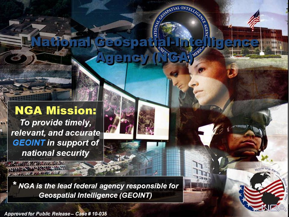 National Geospatial-Intelligence Agency (NGA)