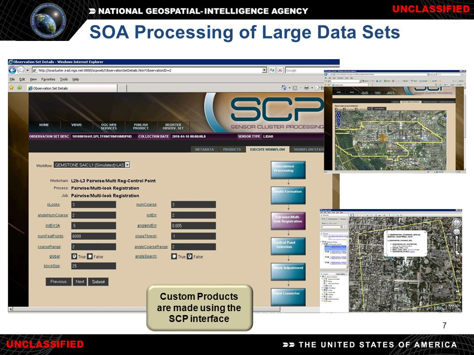 SOA Processing of Large Data Sets